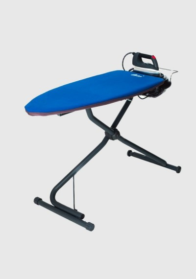 Integrated ironing board with boiler under pressure BECKER A6